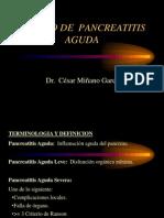 11. Manejo de pancreatitis aguda Dr Miñano