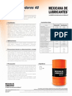 Aceite Dielectrico Para Transformadores 40 Mexicana de Lubricantes
