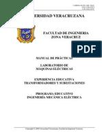 Manual de Practicas y Pruebas a Transformadores-2011