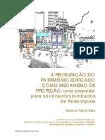 A reutilização do Patrimonio Edificado