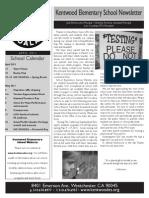 2011.04.Newsletter