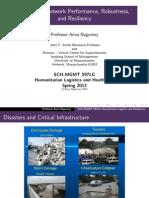 Nagurney Humanitarian Logistics Lecture 5
