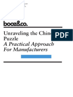 Unraveling the Chinese Puzzle
