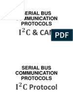 I2C and CAN Protocol
