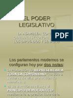 2) El Poder Legislativo