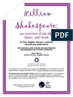 Shakespeare an Overview