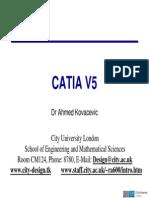 CATIA V5 Introduction