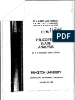 Helicopter Blade Analysis
