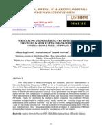 Formulating and Prioritizing Crm Implementation Strategies in Mehr Eghtesad Ba