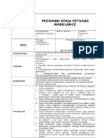046 Pedoman Kerja Petugas Ambulance