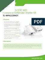 Tl-wpa2220kit(Eu v1 Datasheet