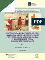 Estructura de Estudio Comunidad Rural Para Comunidades Rurales