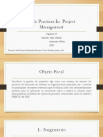 Agile Practices in Project Management