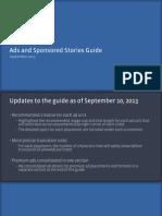 Update September 2013 - Facebook Ads and Sponsored Stories Guide