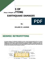 Retrofitting of earthquake damages