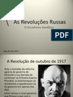 As Revoluções Russas