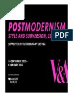 Teachers Resource Postmodernism