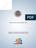 Bhutan e Government Master Plan 78578