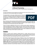 Liquid Analysis in Minerals Processing