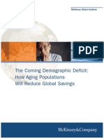 MGI the Impact of Aging Population on Global Savings Full Report