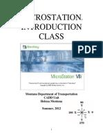 Mdt v8i Intro to Microstation Ext