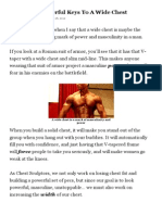 2 Powerful Keys to a Wide Chest