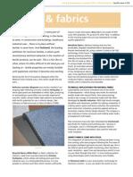 Fibers and Fabrics Veiw