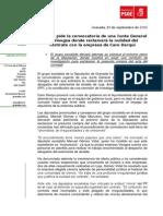 Nota de Prensa Visogsa