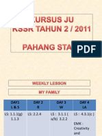 Lesson Plans - Pahang 2011