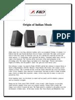 Fenda_blog_origin of Indian Music