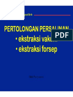 Persalinan VE Forsep