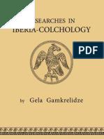 Reserchers in IBERIA - COLCHOLOGY