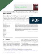 2013_Mödlinger et al. Conical helmets. Materials Charaterization