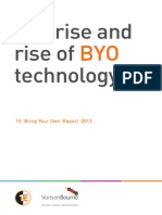 The rise and rise of BYO technology