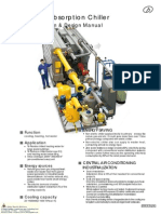 BROAD X Absorption Chiller Model Selection Design Manual