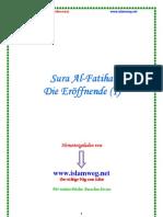 Sura Al-Fatiha - Die Eroeffnende (1) - Islamweg.net