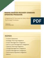Disaster Plan PPT