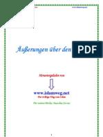 Ausserungen Ueber Den Islam - Islamweg.net