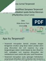 Review Jurnal Terpenoid