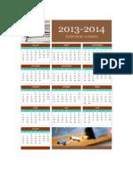 Calendrier scolaire 2013-20141