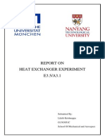 Heat exchanger report