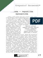 Polska - Republika Wyznaniowa