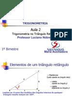 PDF Aula 2 Trigonometria No Triangulo Retangulo