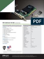 PNY Commercial GeForce GT520 En