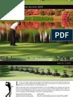 2010 Masters Golf Tour