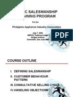 Sales Training Presentation
