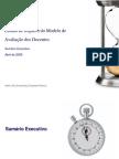 Relatório Impacto do Modelo de Avaliação-Junho 09