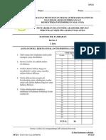 SOALAN MT  KERTAS 1 TRIAL SBP  SPM 2013
