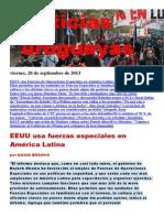 Noticias Uruguayas Viernes 20 de Setiembre Del 2013