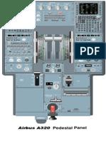 A320 Pedestal Panel